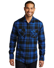 Port Authority W668    Plaid Flannel Shirt at GotApparel
