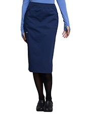 Cherokee Workwear Ww510  30 Knit Wistband Skirt at GotApparel