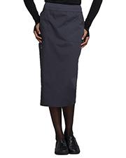 Cherokee Workwear WW510 Women 30 Knit Wistband Skirt  at GotApparel