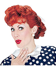 Halloween Costumes XR19069  I LOVE LUCY ADULT WIG at GotApparel