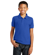 Port Authority Y100  ® Youth Core Classic Pique Polo. . at GotApparel