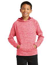 Sport-Tek YST225  ® Youth Posicharge® Electric Heather Fleece Hooded Pullover. . at GotApparel