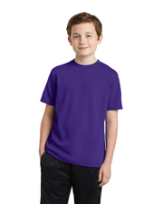 Sport-Tek YST340 Boys PosiCharge RacerMesh™ Tee at GotApparel