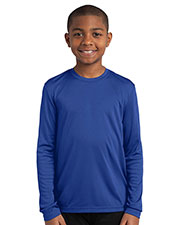 Sport-Tek® YST350LS Boys Long-Sleeve PosiCharge®  Competitor  Tee at GotApparel