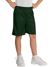Sport-Tek YT510 Boys Mesh Short at GotApparel