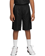 Sport-Tek YT560 Boys PosiCharge Mesh Reversible Short at GotApparel